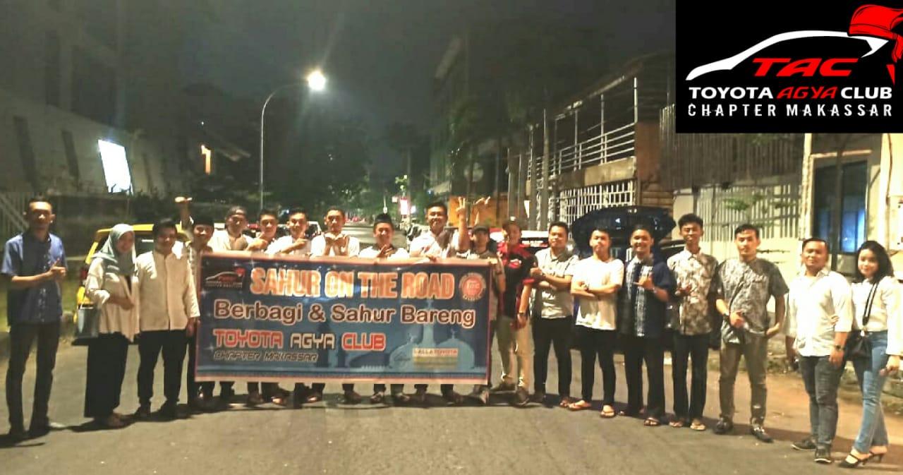 Toyota Agya Club Chapter Berbagi Berkah Lewat Sahur On the Road