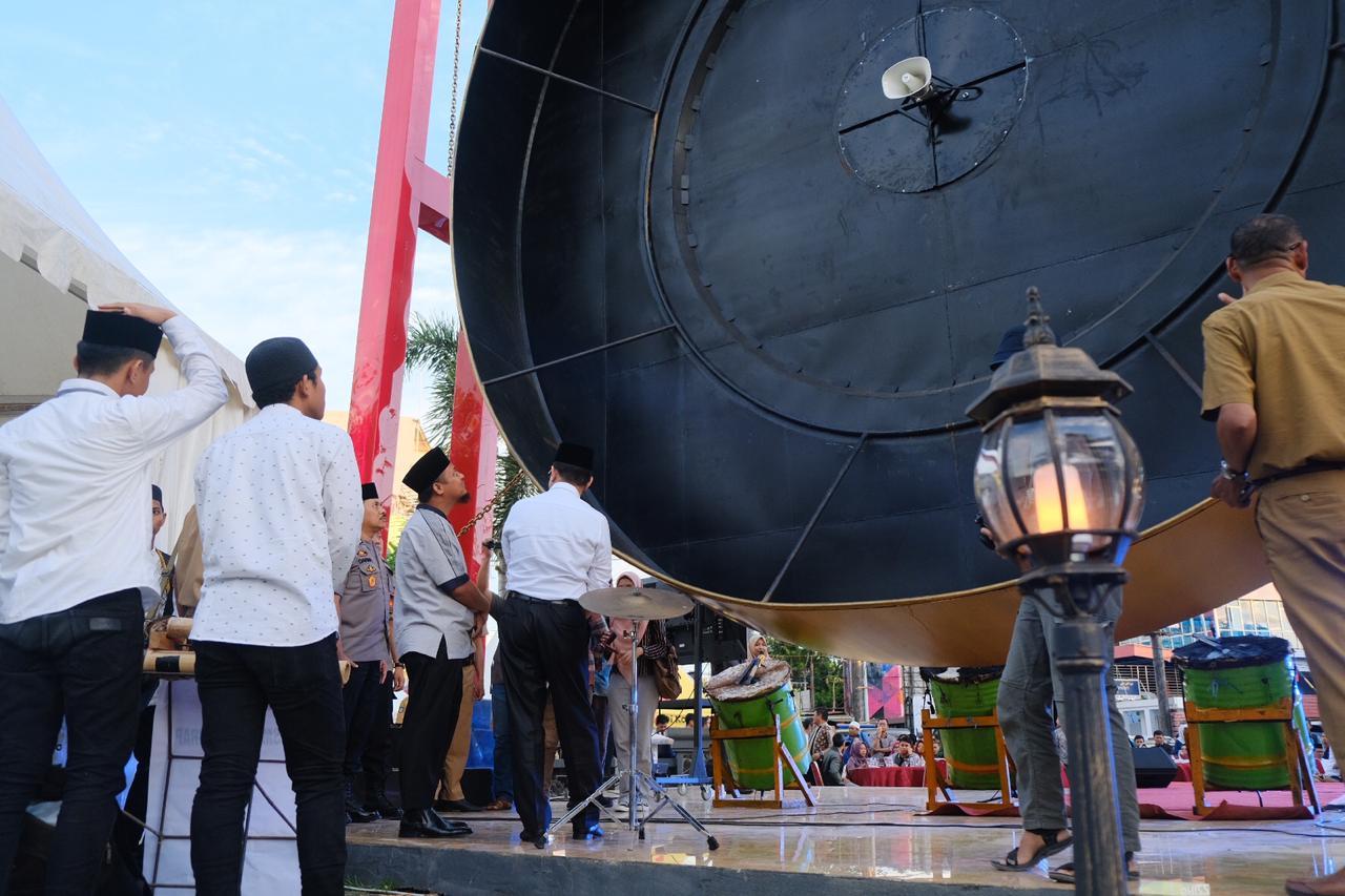 Wagub Launching Aplikasi dan Gong Sistem Deteksi Dini Bencana