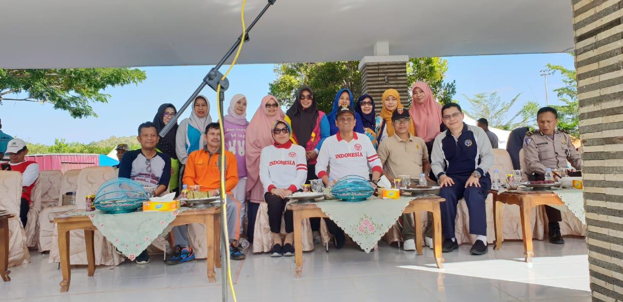 Bupati Barru Membuka Launching Jalur Car Free Day