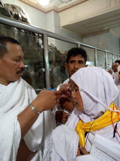 CJHI Bulukumba  Sudah Tiba di Makkah Langsung  Umrah