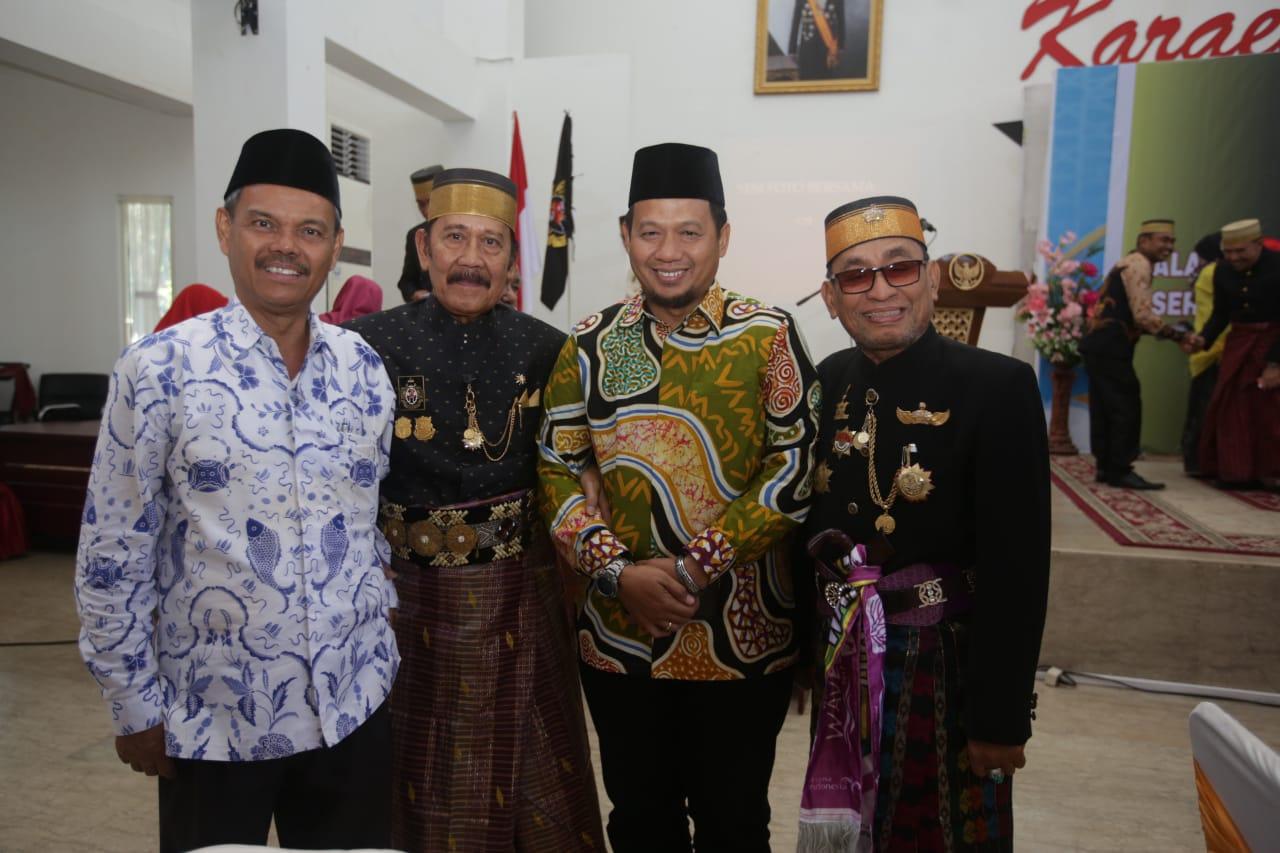 Iqbal Suhaeb Hadiri Pengukuhan Majelis Keturunan Tomanurung.