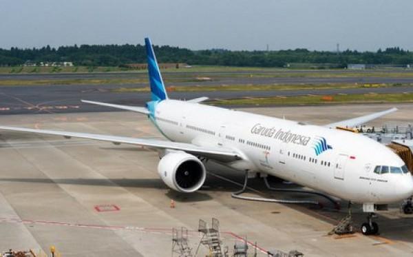 Pesawat Garuda Pengangkut CJH Putar Balik Karena Hidrolik Bocor