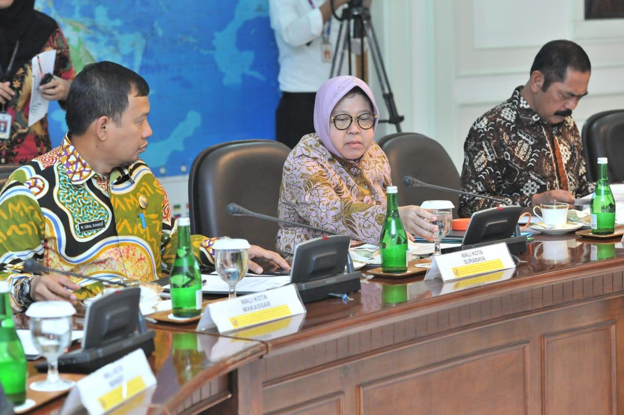 PJ Walikota Hadiri Rapat Terbatas Bahas Penerapan PLTSa