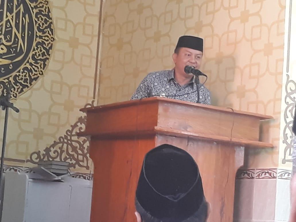 Bupati Kepulauan Selayar, H.M Basli Ali, Ajak Warganya Memakmurkan Masjid