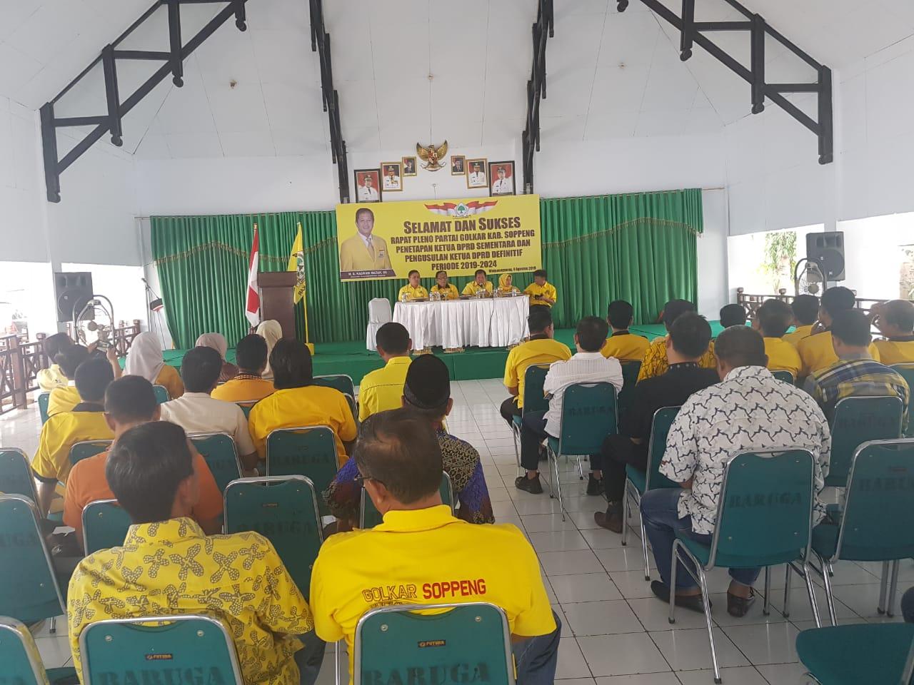 MRP : Golkar Soppeng Ajukan 3 Calon Ketua DPRD Ke Golkar Provinsi