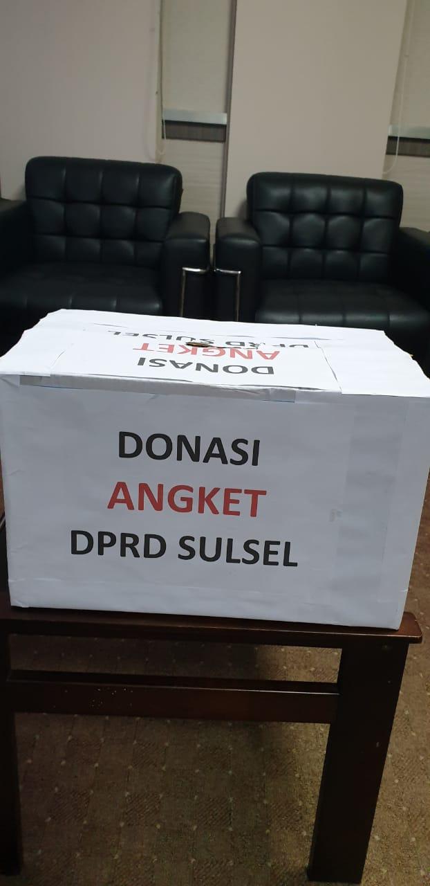 Pansus Hak Angket Buka Donasi, Wujud Perbaikan Pemerintahan di Sulsel