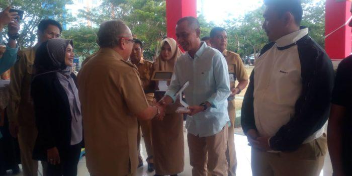 Permudah Bayar Pajak, Pemkab Bantaeng dan PT. Pos Indonesia Teken MoU