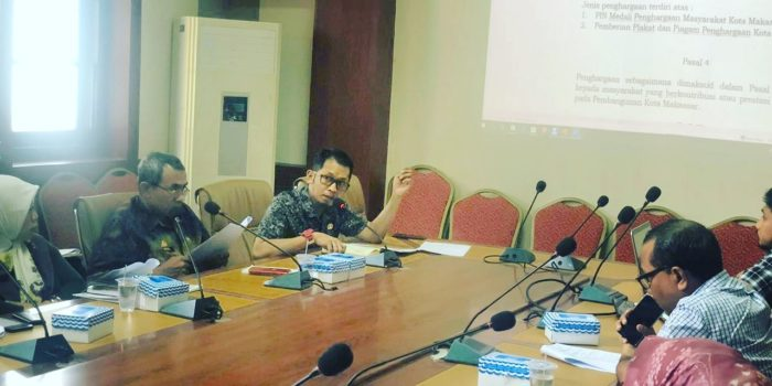 PU Kota Makassar Inisiasi Draft Perda Penghargaan Peran Masyarakat dalam Pembangunan