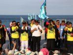 Ribuan Peserta Ikuti Jalan Santai HUT Kopersi di Pantai Bira