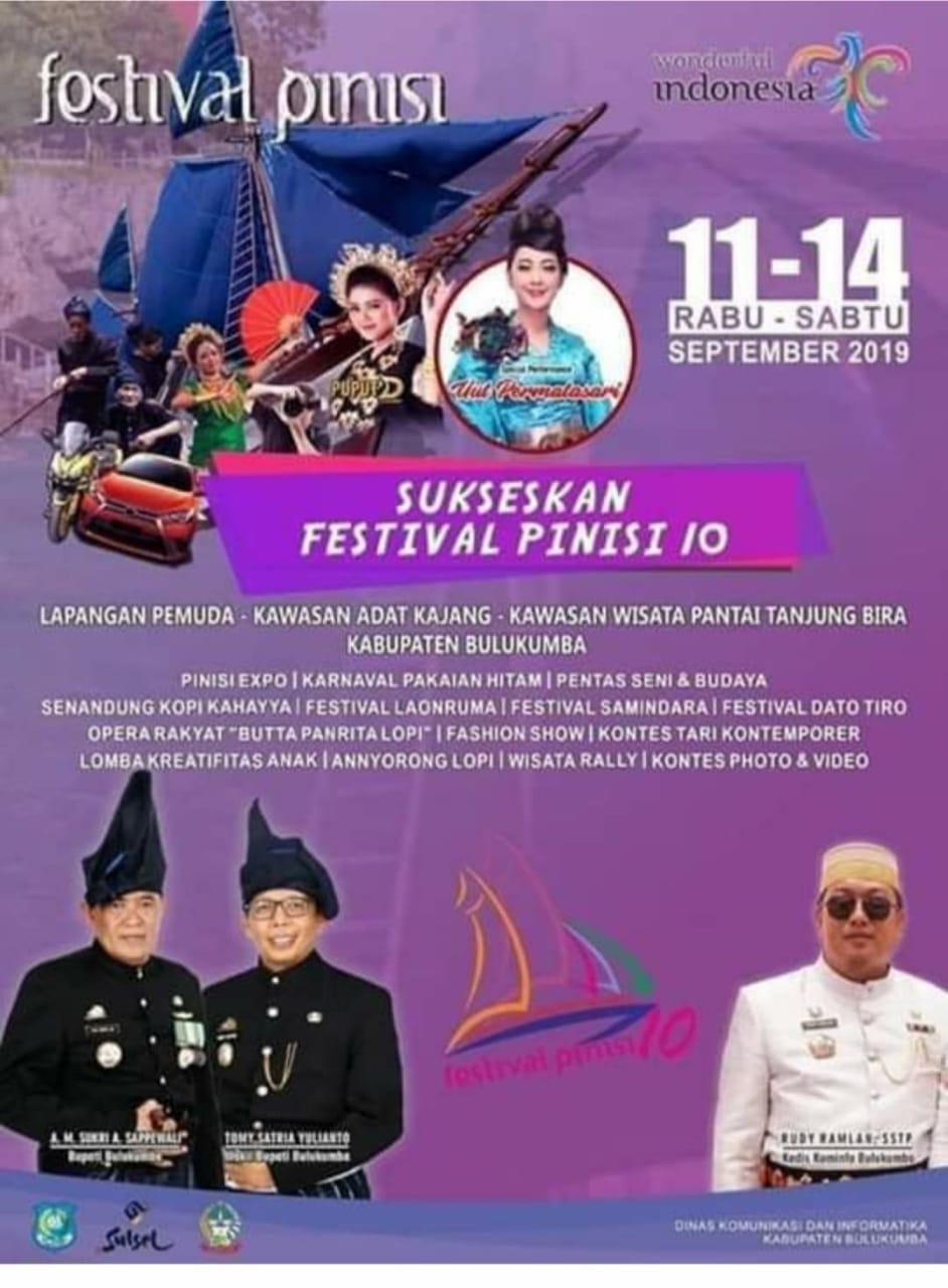 Bupati Andi Sukri, Ayo Ramaikan Festival Pinisi