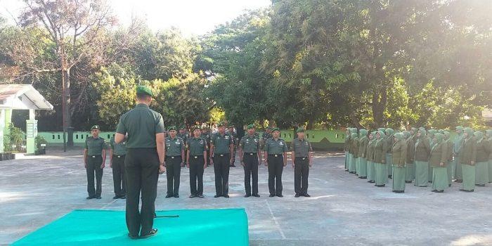 Dandim 1410 Bantaeng Pimpin  Corps Raport