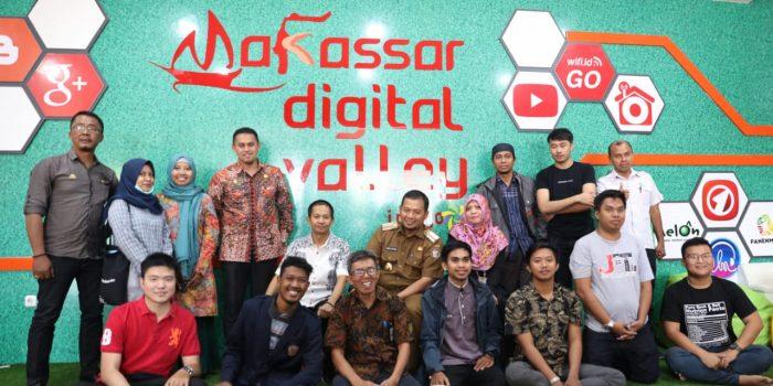Pj Walikota Makassar Kunjungi Inkubator Start Up MDV Milik PT Telkom