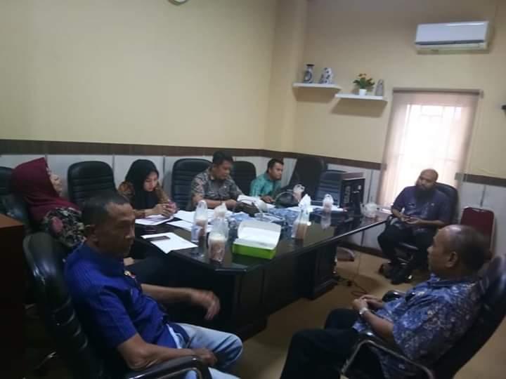 Bahas Program Kegiatan, Camat Bontoala Syamsul Bahri Gelar Rapat Interent
