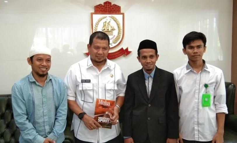 BMH Kota Makassar Temui Wali Kota Jelang Munas Laznas
