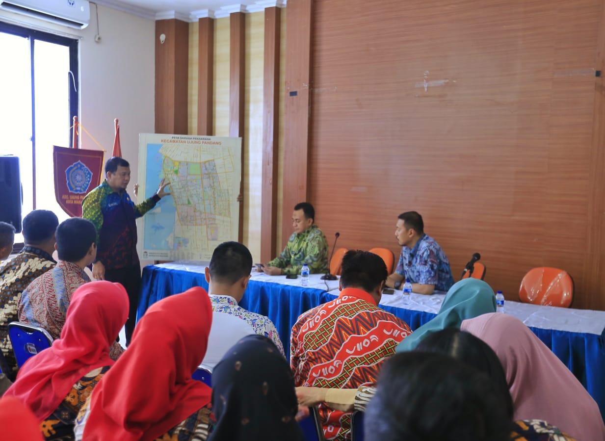 Dapat Kunjungan dari Pj Walikita Makassar, Camat Wajo Ansar Mengaku Senang