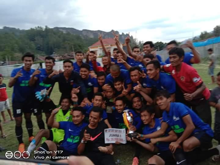 Dedekan Juarai Turnamen Sepak Bola  'IGO JAYA CUP 1'