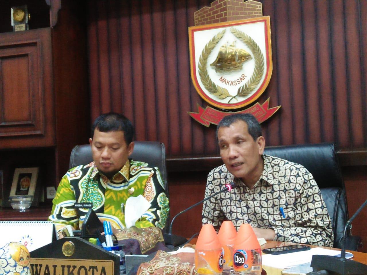 Deputi Pencegahan KPK RI Pahala Nainggolan dan Pj Wali Kota Makassar Lakukan Pertemuan Ini yang di Bahas