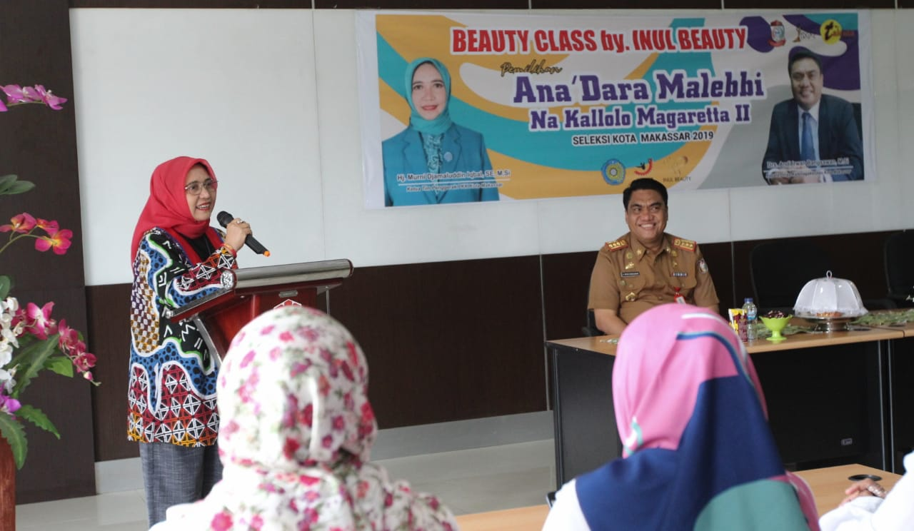 Gandeng Dinas Ketenagakerjaan, TP PKK Kota Makassar Gelar Beauty Class