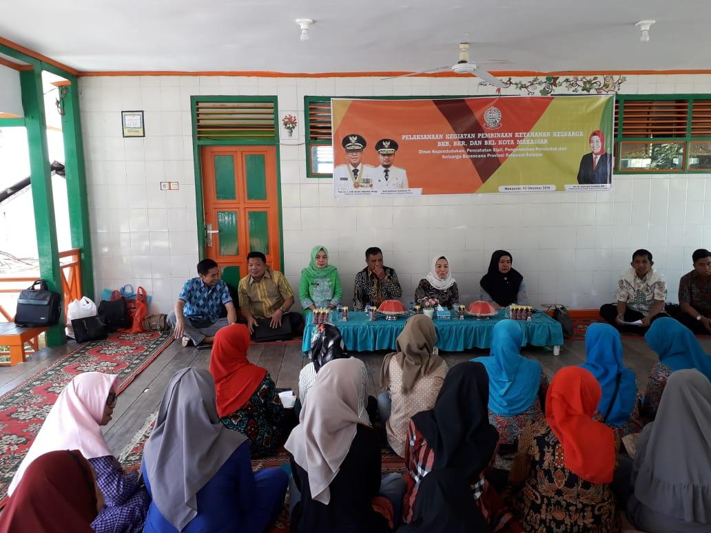 Kader Tribina Kota Makassar, Dapat Pembinaan dari Dinas Dukcapil Dalduk Provinsi Sulsel