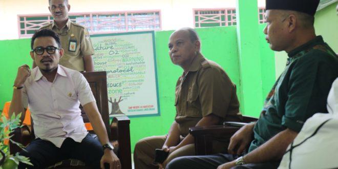 Klarifikasi Siswa di Berhentikan dari SMPN 40, Komisi D DPRD Makassar Lakukan Kunjungan