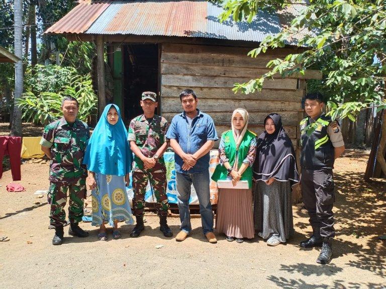 Kodim Bersama Baznas Bulukumba Siap Bedah 2 Rumah di Bontobahari