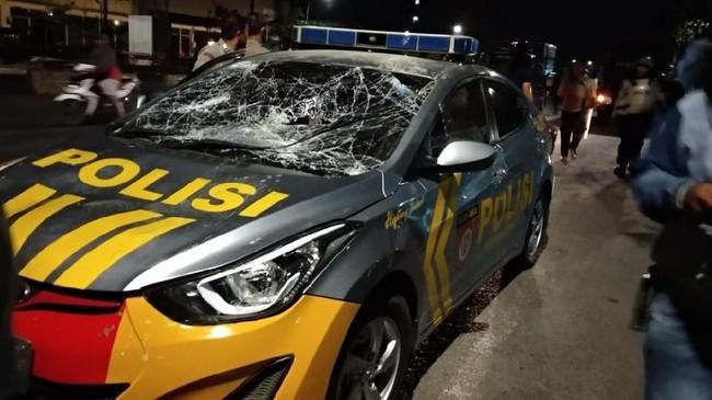 Mahasiswa Pelaku Pengurakkan Mobil Patroli Polres Gowa Telah di Amankan