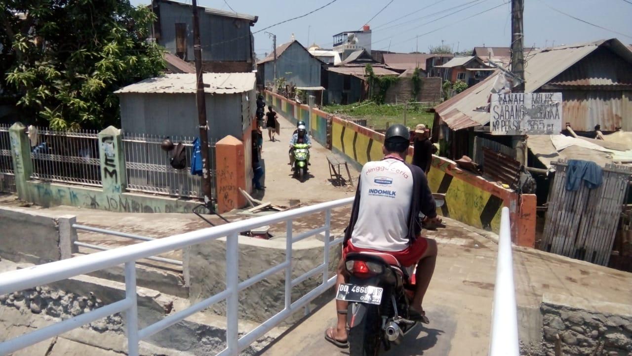 Masyarakat Beri Apresiasi Atas Jembatan yang di Bagun Dinas PU