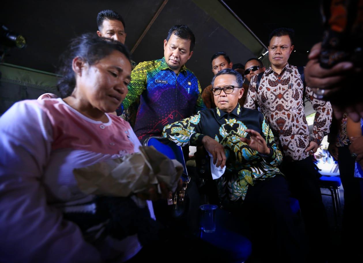 Pj Walikota Makassar Iqbal Suhaeb Minta Dinkes dan Dinsos Bersinergi Tangani Pengengsi Wamena