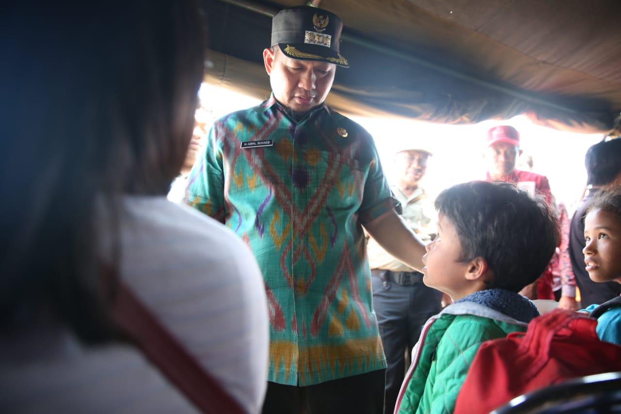 Pj Walikota Makassar Kembali Sambut Kedatangan Para Pengungsi Wamena