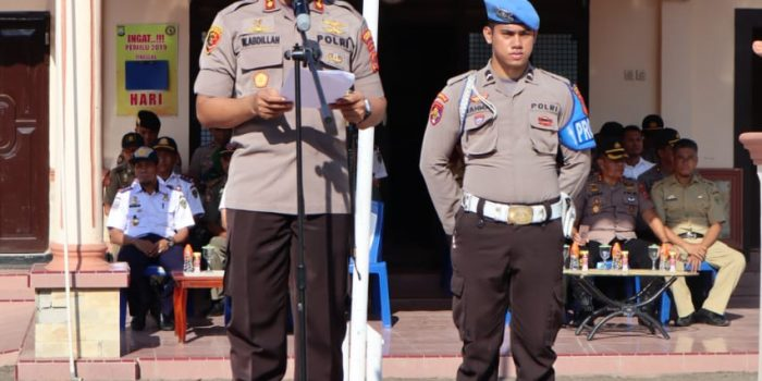 Amankan Porseni PGRI Se Sulsel di Barru, Ratusan Personel Gabungan Disiagakan