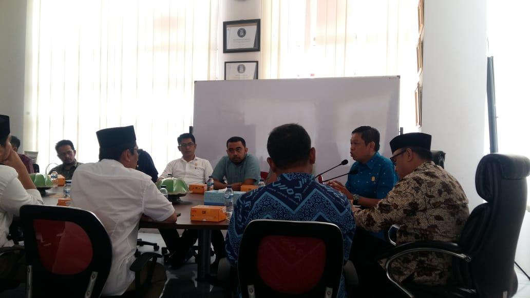 Berkunjung ke Kantor Dinas Perhubungan Kota Makassar, Ketua Komisi C Abdi Asmara Soroti Beberapa Hal