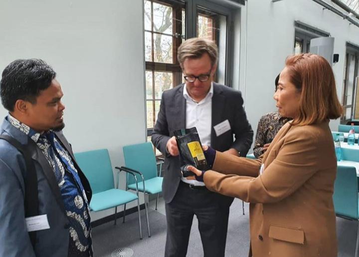Di Jerman, Wakil Bupati Enrekang Kembalikan Kejayaan Kopi Kalosi