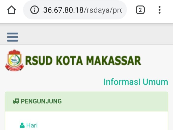 Manfaatkan Teknologi RSUD Kota Makassar Beri Pelayanan Berbasis Online
