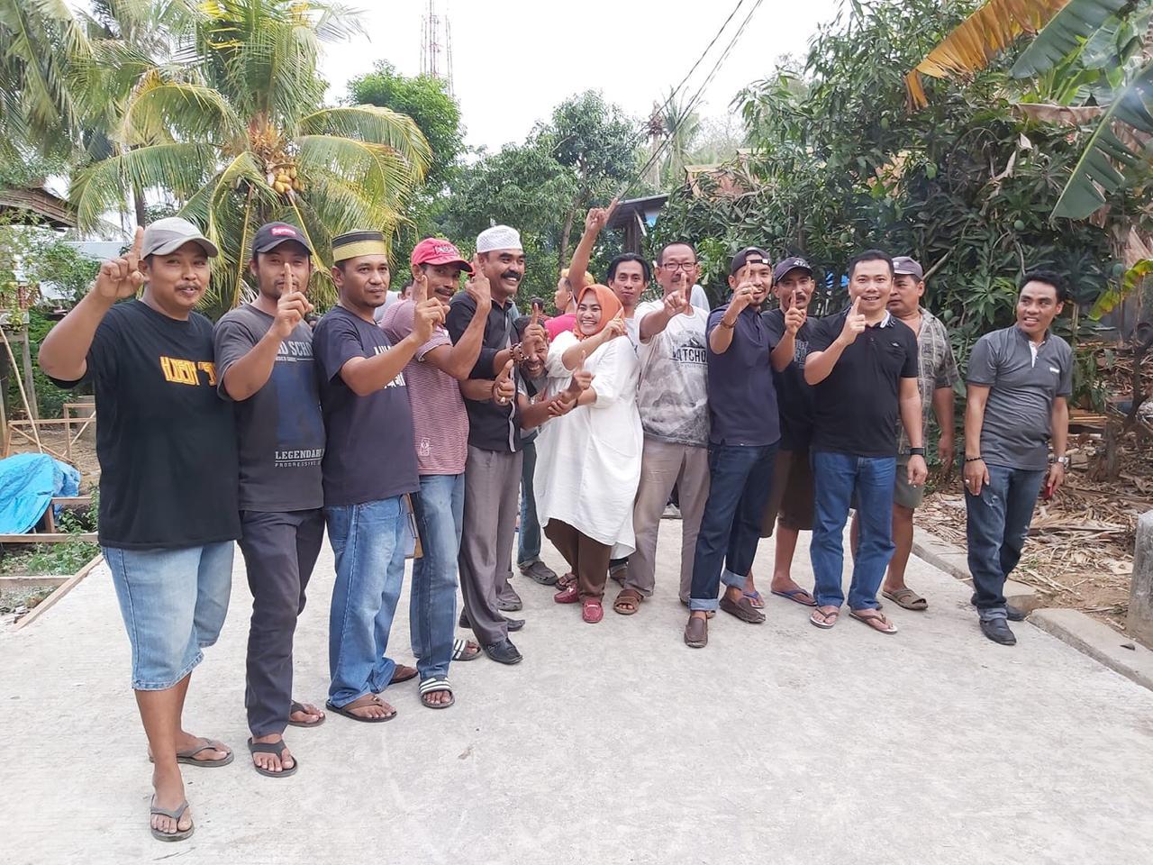 """Masyarakat Desa Lempa Antusias """"Masseddi"""" ke Sesmawati"""