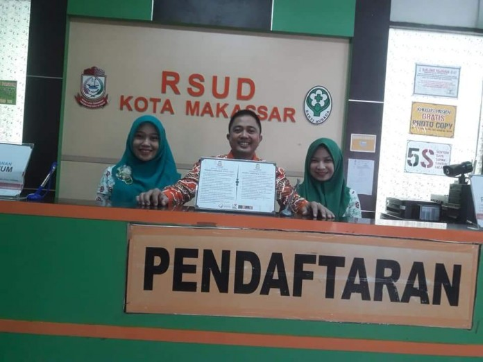 Moto RSUD Kota Makassar, Layani Pasien dengan Ramah