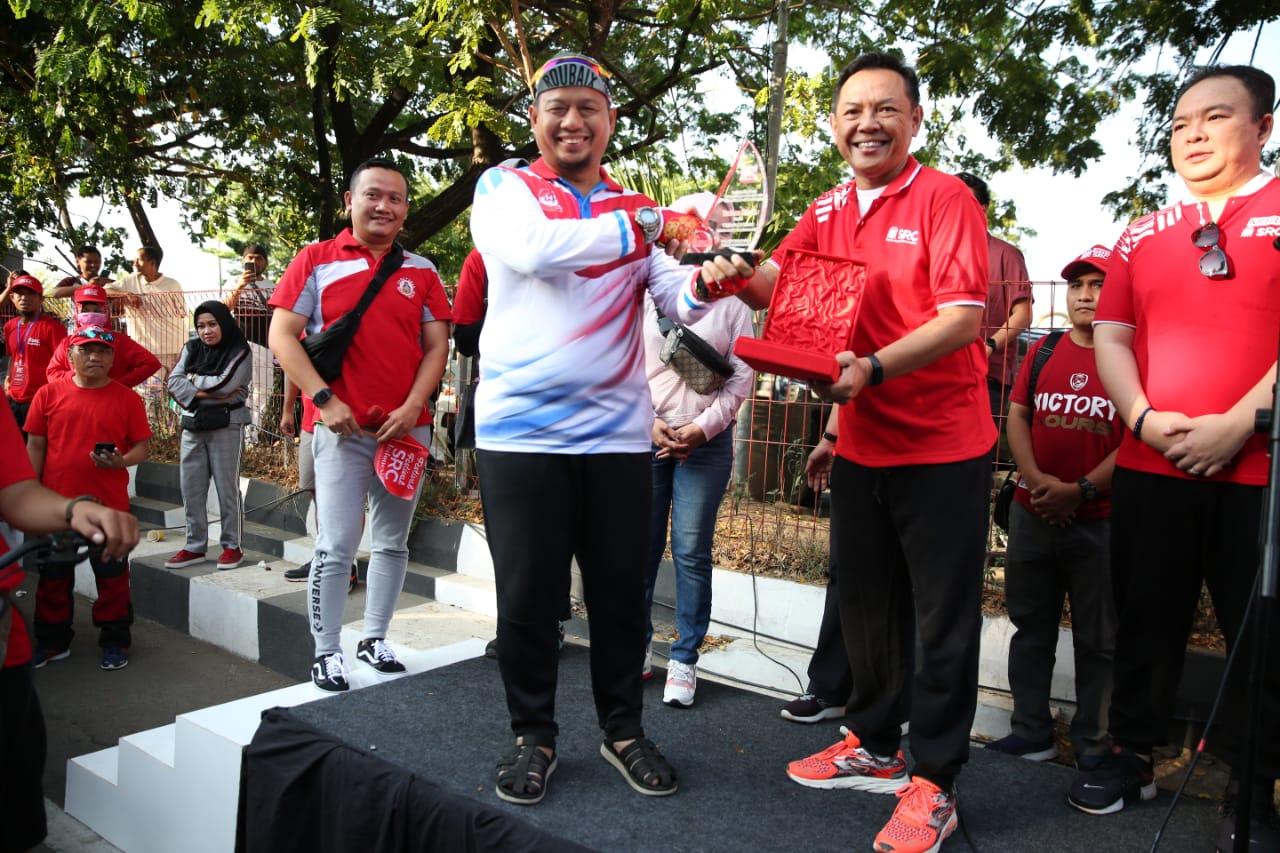 Serukan Belanja di Toko Kelontong, Iqbal Suhaeb Lepas Festival SRC 2019
