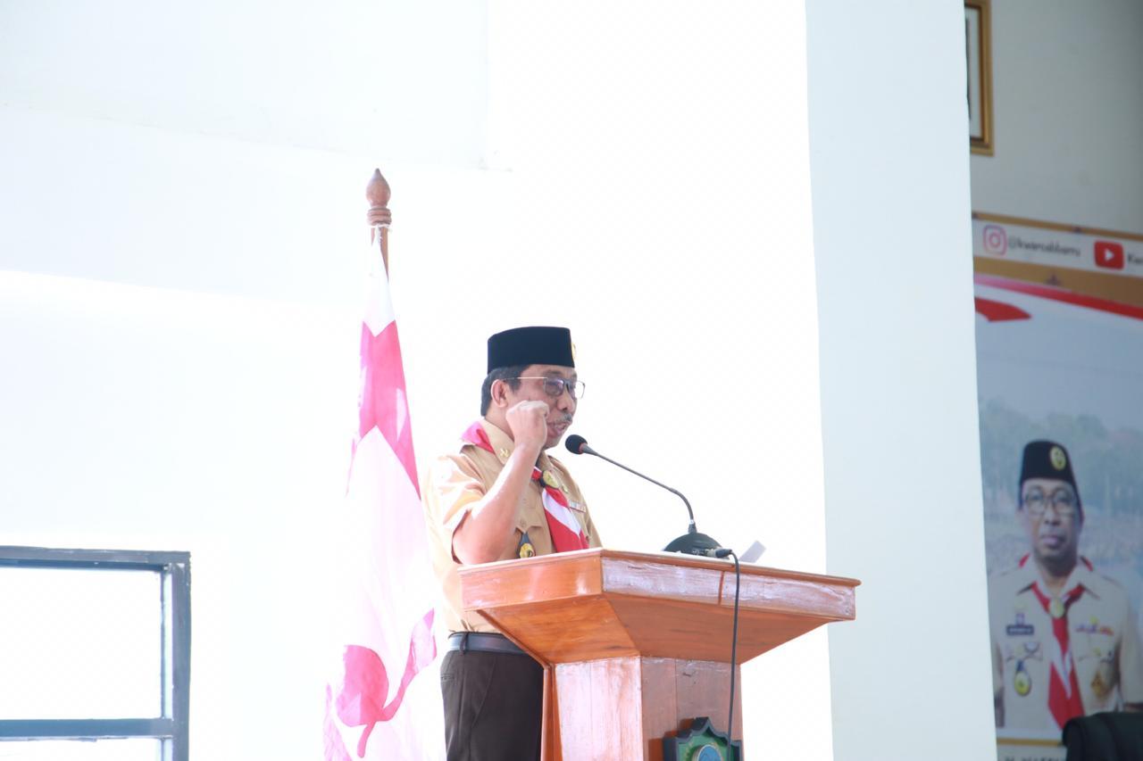Wakil Bupati Barru Nasruddin Hadiri Rapat di Kantor Gubernur Sulsel