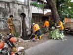 Antisipasi Banjir Camat Thahir Lakukan Pemeliharaan Drainase dan Imbau Warga, Tidak Buang Sampah Sembarang Tempat