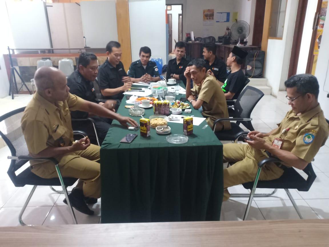 Bawaslu Koordinasi dengan Kepala Desa Rannaloe, Gagas Desa Sadar Pengawasan