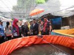 Hujan Deras, Iqbal Suhaeb Tinjau Lokasi P2K3
