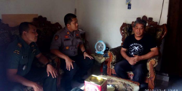 Kapolsek Makassar Turun Langsung ke Masyarakat Imbau Jaga Keamanan