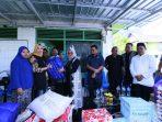 Kunjungi Korban Kebakaran, Iqbal Serahkan Bantuan Material Bangunan