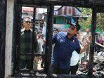 Kunjungi Korban Kebakaran Jalan Regge, Iqbal Minta Warga Perhatikan Kabel Listrik