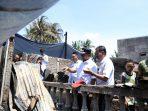Kunjungi Lokasi Kebakaran, Iqbal Suhaeb Berikan Dukungan Moril