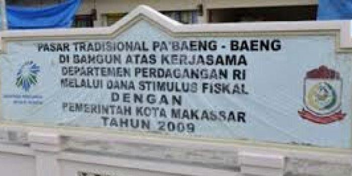 Pemkot Makassar Rancang Dua Pasar Wisata