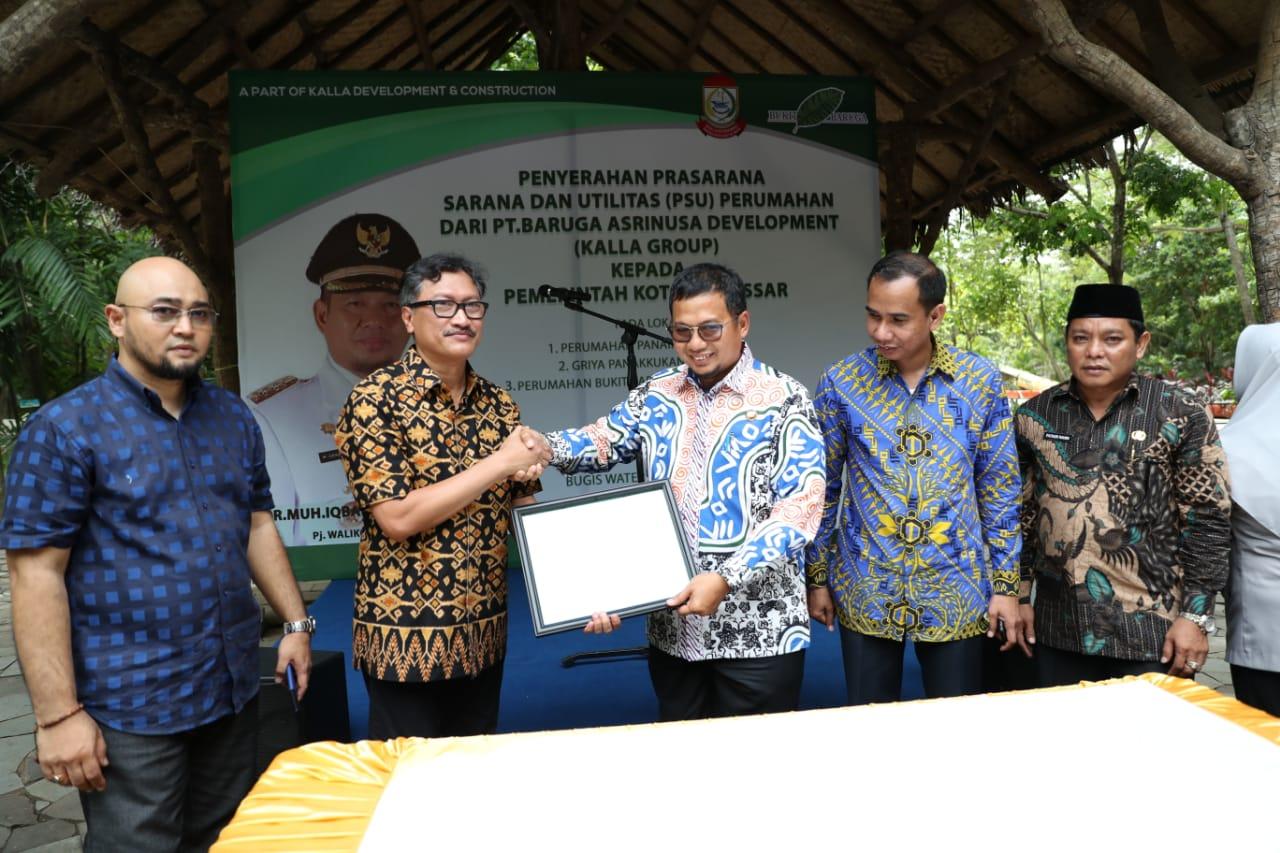Pemkot Makassar Terima Tiga PSU dari PT Baruga Asrinusa