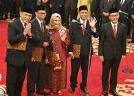 Presiden Jokowi Lantik Lima Dewan Pengawas KPK