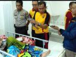Kapolsek Ujungbulu Besuk Anak Anggotanya di RSUD