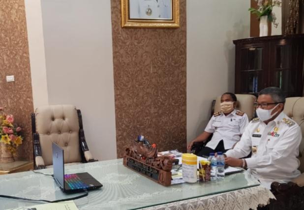 Taufan Pawe Vidcon Kemendagri, Bahas Kesiapan Daerah Tangani Covid-19