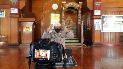 Batalyon C Pelopor Satbrimob Buat Video Tutorial Cara Sholat Ied di Rumah pada Masa Pandemi Covid 19